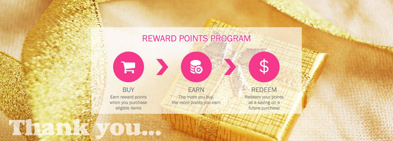 Thank You - Reward Points