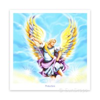 Greeting Card - Archangel Michael - Protection