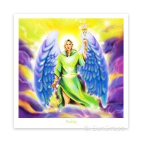 Greeting Card - Archangel Raphael - Healing