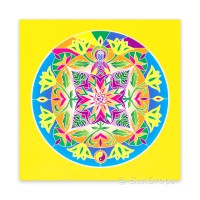 Greeting Card - Lotus Buddha - Path