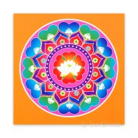 Greeting Card - Sacred Lotus Heart - Purity of Mind