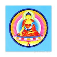 Greeting Card - Shakyamuni Buddha - Enlightenment
