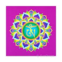 Greeting Card - Tibetan Om - Tranquility