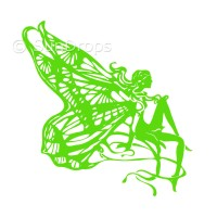 Harmony Decal - Butterfly Fairy