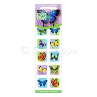 Sticker Stamps - Australian Butterflies