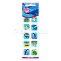 Sticker Stamps - Ocean World