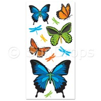 Australian Wall Art Stickers - Butterflies and Dragonflies