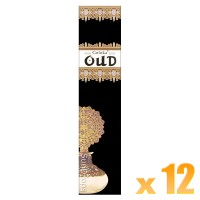 Goloka Incense Sticks - Oud - 15g x 12