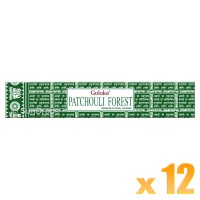 Goloka Premium Series - Patchouli Forest - 15g x 12