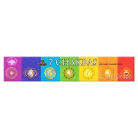 Green Tree Incense Sticks - 7 Chakras - 15g