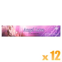 Green Tree Incense Sticks - Angel Love - 15g x 12