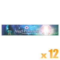 Green Tree Incense Sticks - Angel Protection - 15g x 12