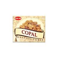 Hem Incense Cones - Copal - 1 Packet / 10 Cones