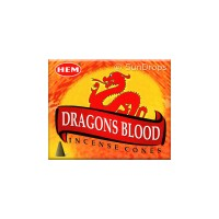 Hem Incense Cones - Dragons Blood - 1 Packet / 10 Cones