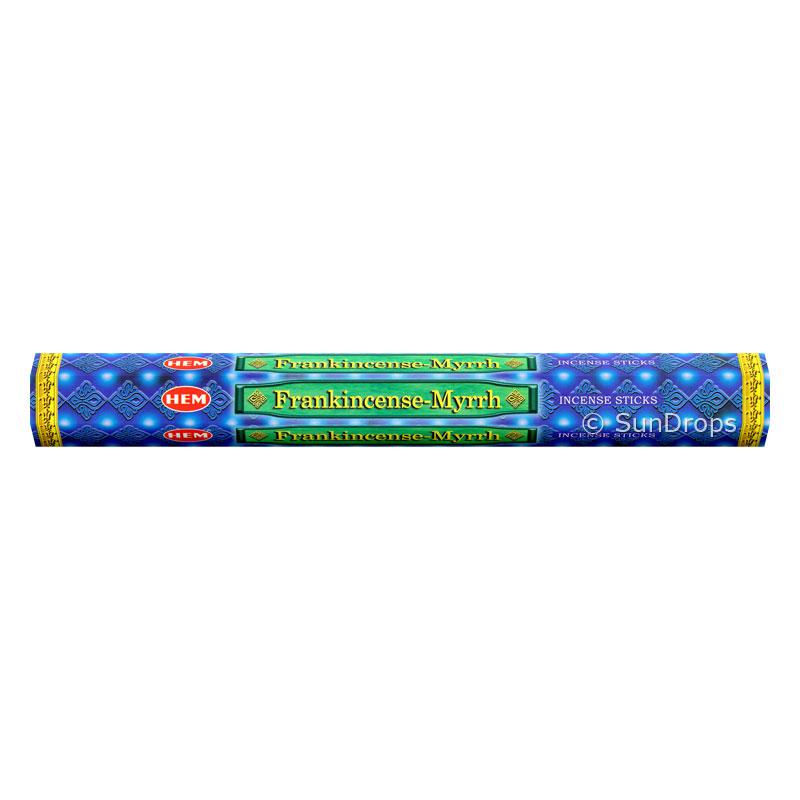 Hem Incense Sticks - Frankincense Myrrh - 1 Packet / 20 Sticks