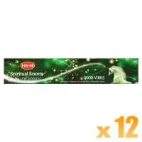 Hem Incense Sticks - Good Vibes - 15g x 12