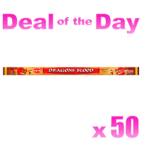 Hem Incense Sticks - Dragons Blood Red - Bulk Deal