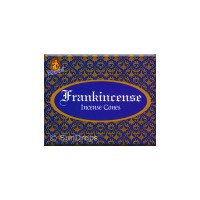 Kamini Incense Cones - Frankincense - 1 Packet / 10 Cones