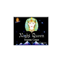 Kamini Incense Cones - Night Queen - 1 Packet / 10 Cones