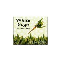 Kamini Incense Cones - White Sage - 1 Packet / 10 Cones