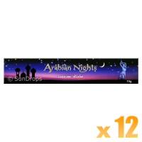 Kamini Incense Sticks - Arabian Nights - 15g x 12