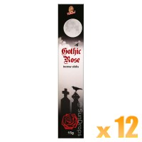 Kamini Incense Sticks - Gothic Rose - 15g x 12