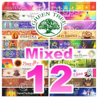 Green Tree Incense Sticks - Mixed Pack - 15g x 12