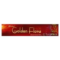Balaji Incense Sticks - Golden Flora - 1 Packet / 15 Sticks