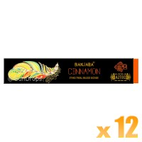 Banjara Incense Smudge Sticks - Cinnamon - 15g x 12