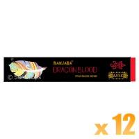 Banjara Incense Smudge Sticks - Dragon Blood - 15g x 12