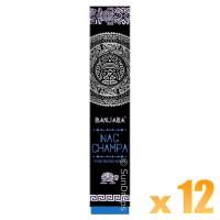Banjara Incense Smudge Sticks - Nag Champa - 15g x 12