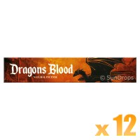 New Moon Incense Sticks - Dragons Blood - 15g x 12