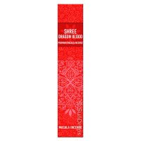 New Moon Shree Masala Incense Sticks - Shree Dragon Blood - 15g