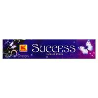 Kwality Incense Sticks - Success - 1 Packet / 20 Sticks