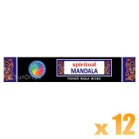 Sri Durga Incense Sticks - Spiritual Mandala - 15g x 12