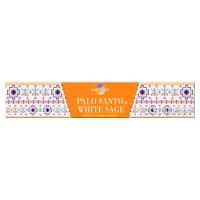 Sacred Elements Incense Smudge Sticks - Palo Santo & White Sage - 15g