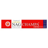 Vijayshree Incense Sticks - Golden Nag Champa - 15g