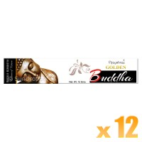 Vijayshree Incense Sticks - Golden Buddha - 15g x 12