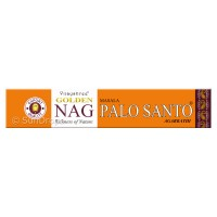 Vijayshree Incense Sticks - Golden Nag Palo Santo - 15g