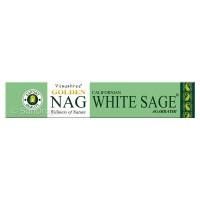Vijayshree Incense Sticks - Golden Nag White Sage - 15g