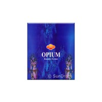 Sandesh Incense Cones - Opium - 1 Packet / 10 Cones