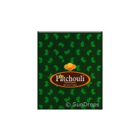 Sandesh Incense Cones - Patchouli - 1 Packet / 10 Cones