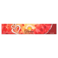Sandesh Incense Sticks - Divine Natural Flora - Love - 15g