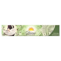 Sandesh Incense Sticks - Divine Natural Flora - Money Drawing - 15g