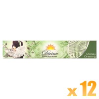 Sandesh Incense Sticks - Divine Natural Flora - Money Drawing - 15g x 12