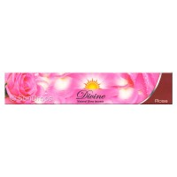 Sandesh Incense Sticks - Divine Natural Flora - Rose - 15g