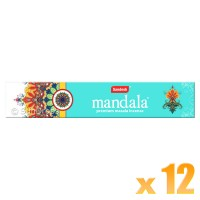 Sandesh Incense Sticks - Mandala - 15g x 12