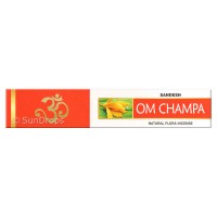Sandesh Incense Sticks - Om Champa - 15g