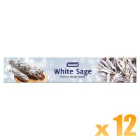 Sandesh Incense Sticks - White Sage - 15g x 12
