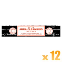 Satya Natural Series - Aura Cleansing - 15g x 12